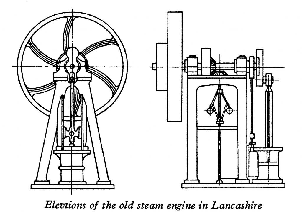 Mr Lees 1947 sketch of the Chadwick Engine
