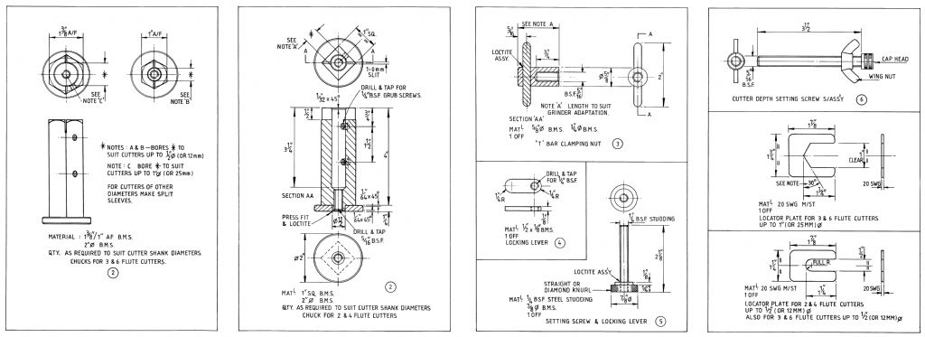 Milling Cutter Sharpening Jig plan side 2