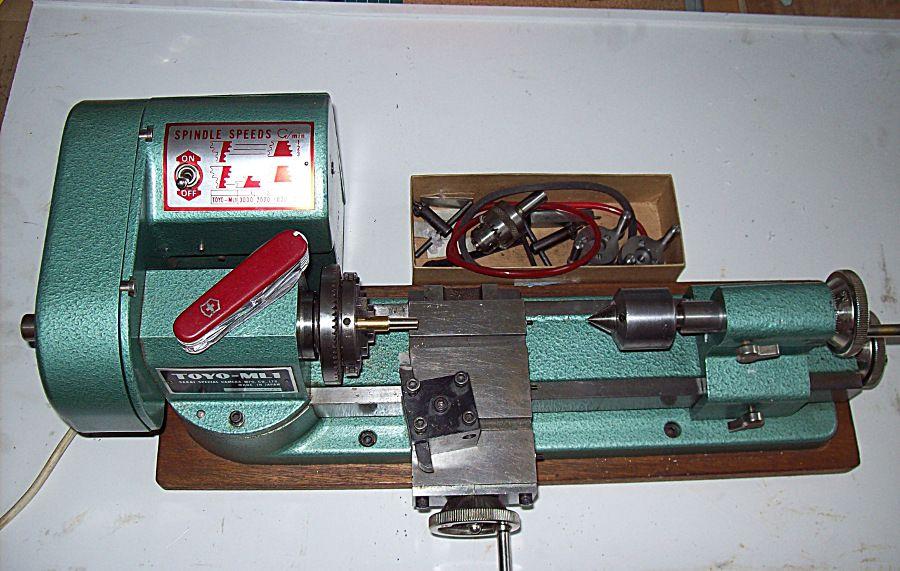 My Toyo Ml1 Model Engineer