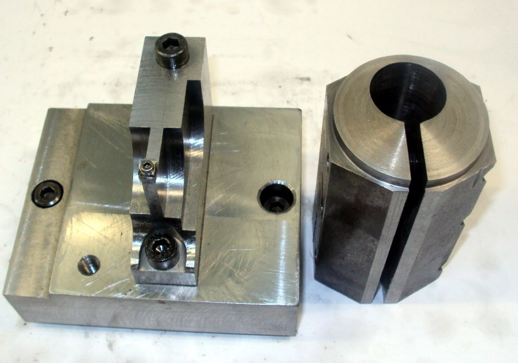custom toolpost setup and crankfixture for big end turning and grinding,polishing.jpg
