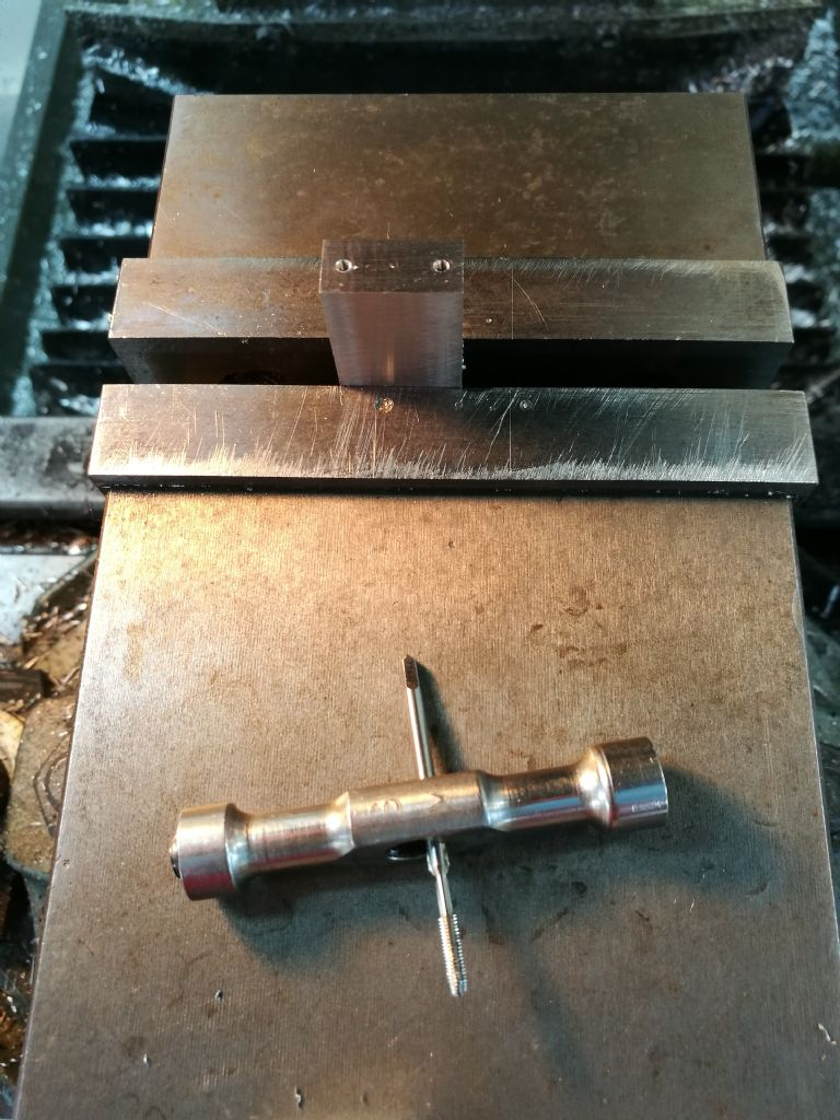 conrod blanks drilling big end