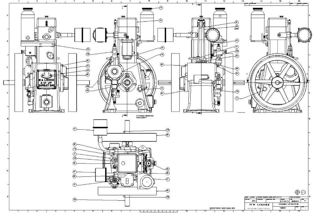 lister diesel engine model engineer rh model engineer co uk Inline Oil Filter Inline Oil Filter