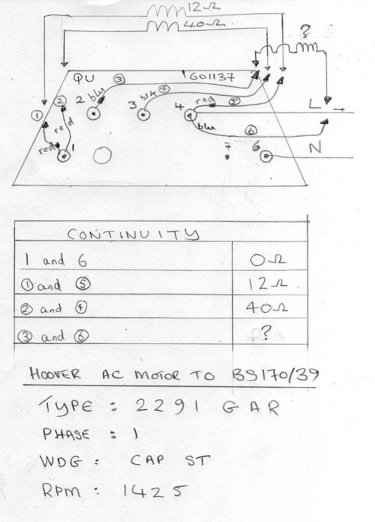 Hoover Motor 2291 Gar Wiring Model Engineer Washing Machine Diagram Circuit