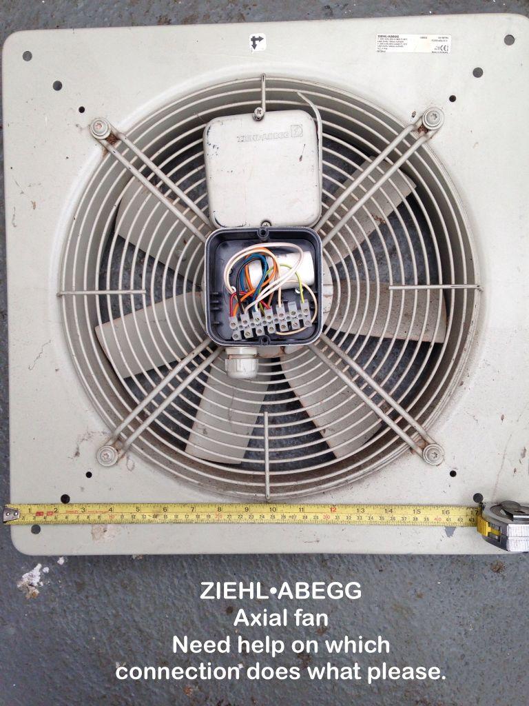 [DIAGRAM_38ZD]  ZIEHL•ABEGG Axial Fan | Model Engineer | Ziehl Abegg Motor Wiring Diagram |  | Model Engineer Magazine