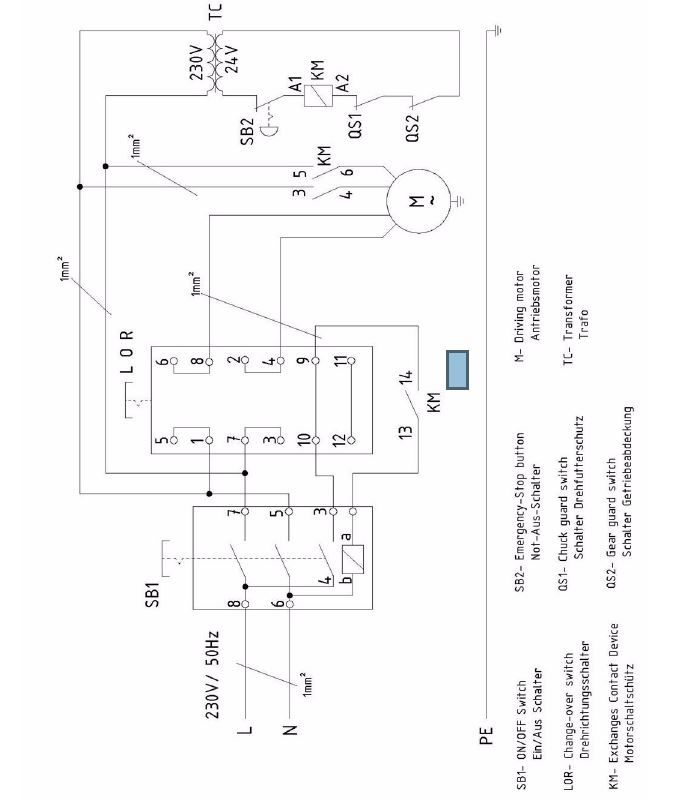 Emergency stop nvr switch wiring diagram wire center warco lathe problem model engineer rh model engineer co uk emergency stop button wiring diagram asfbconference2016 Images