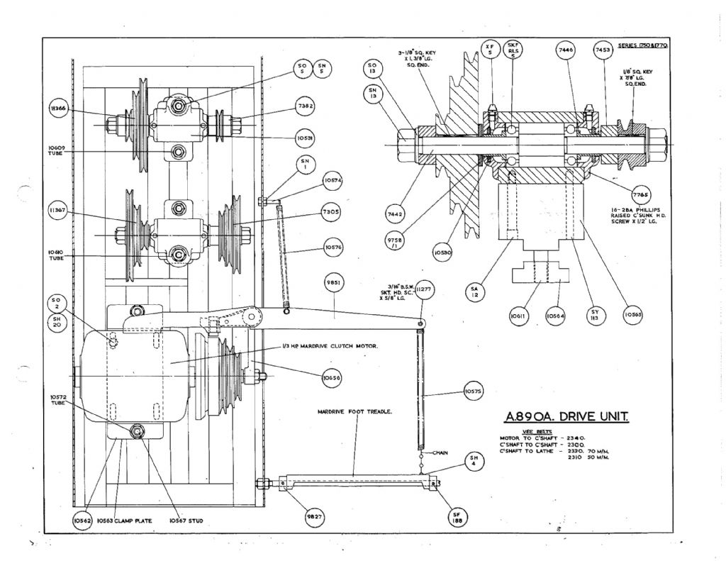 pultra parts drawings and assembly diagrams
