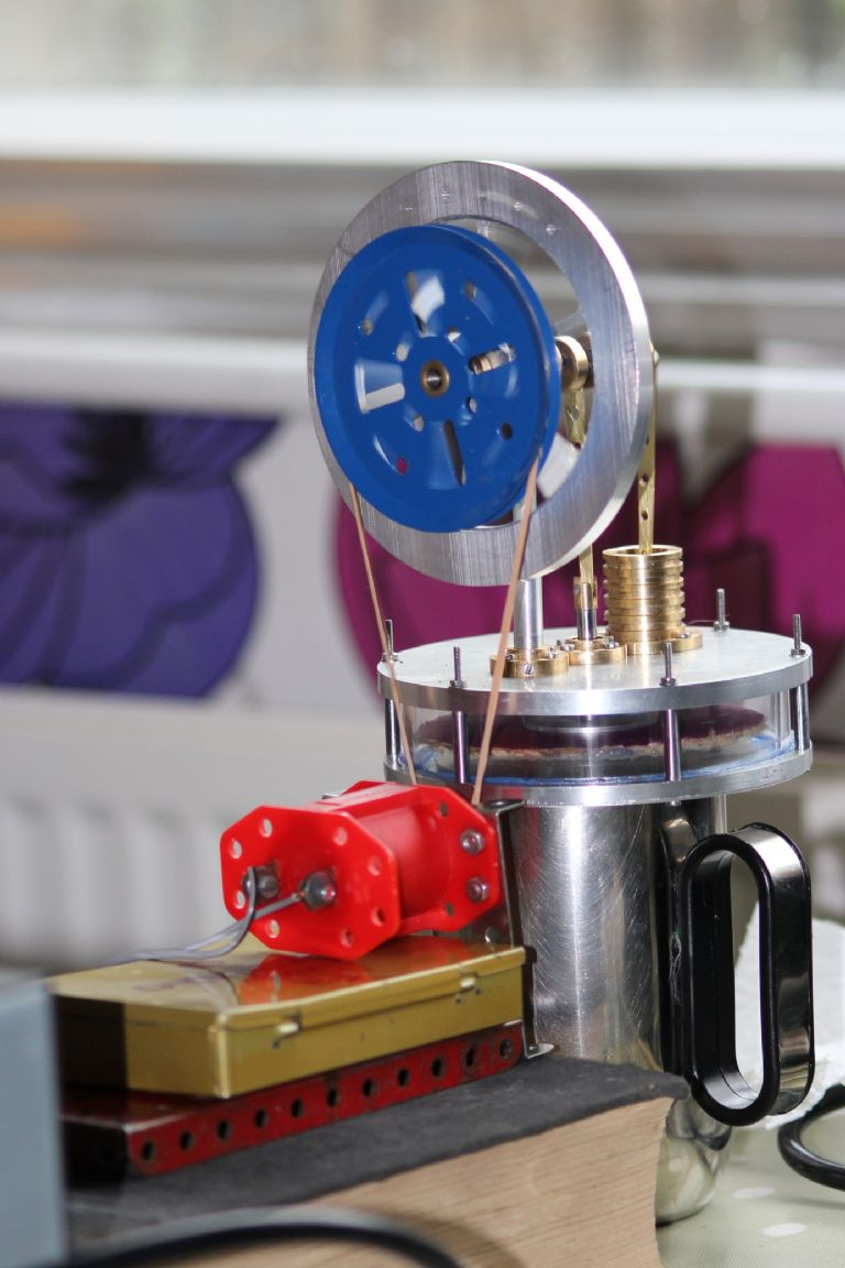 Stirling Hot Air Engine Model Engineer