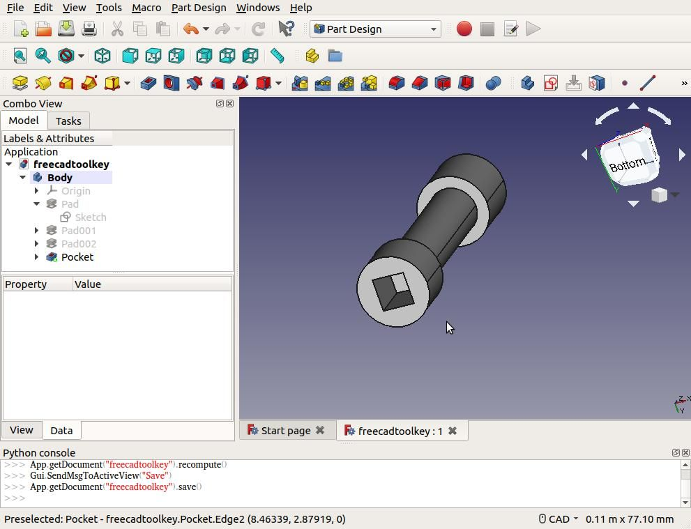 Making a Start in FreeCAD   Model Engineer