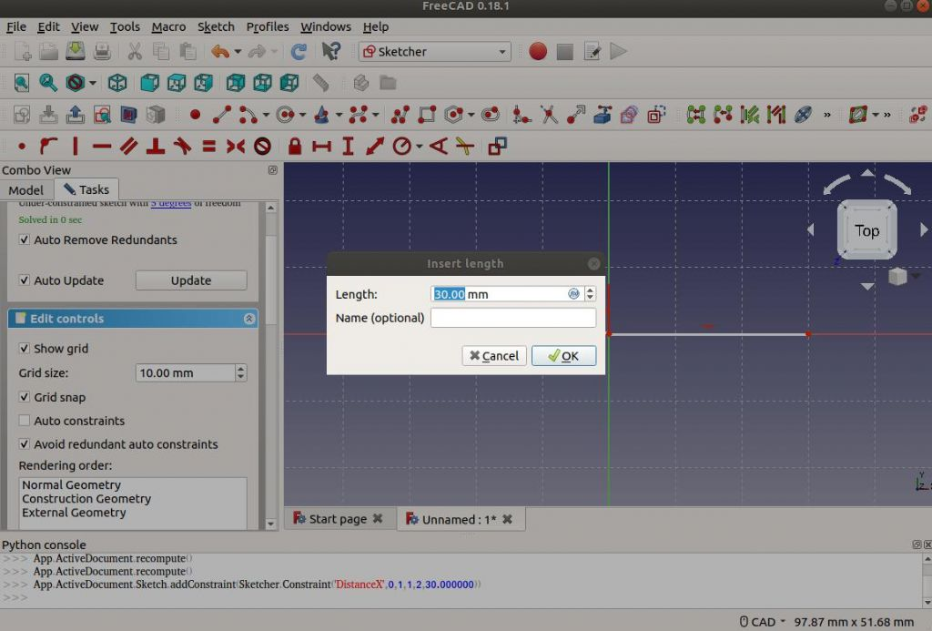 Making a Start in FreeCAD | Model Engineer