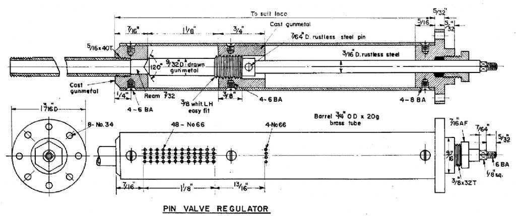 What Regulator type    Model Engineer