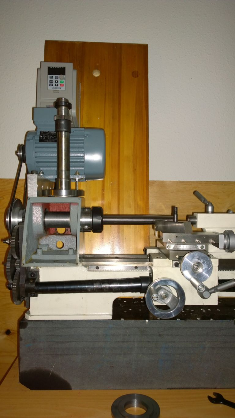 Weiss 180 lathe with ER40