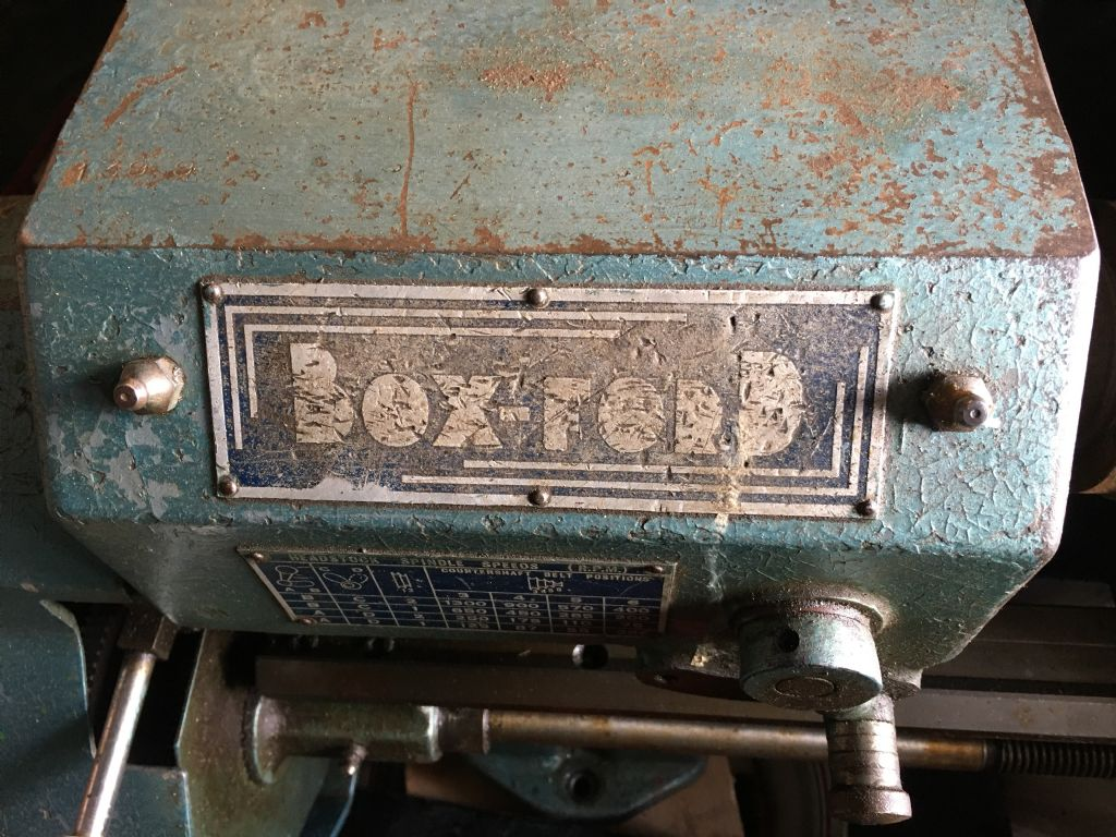 Box-Ford label