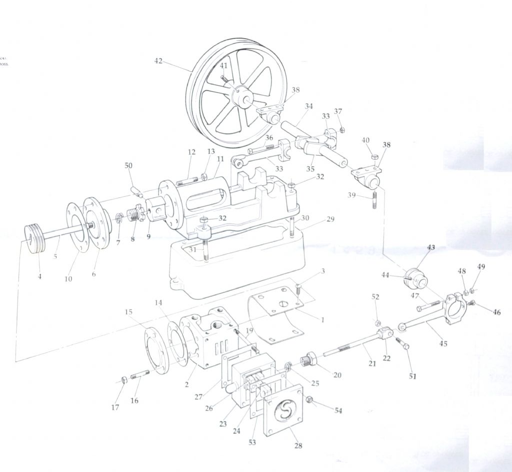 Postings on Engine Exploded View