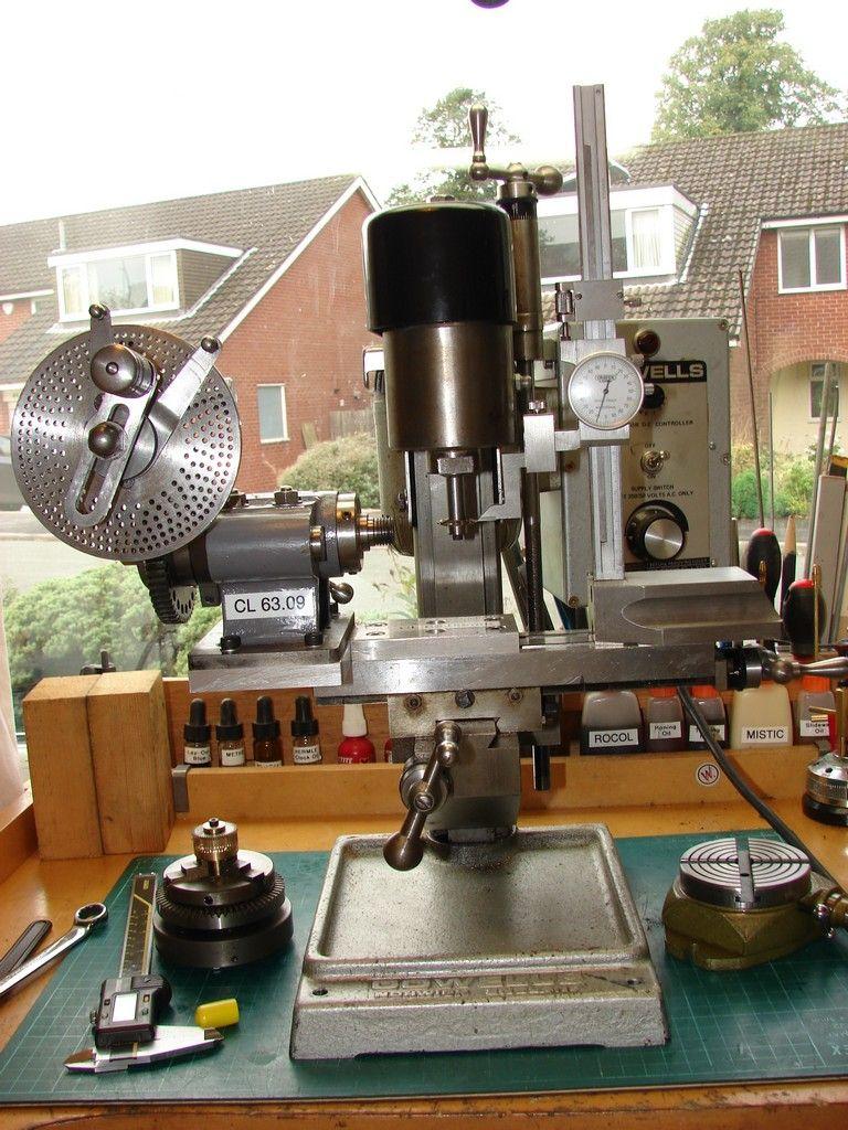 Bench Top Mill Model Engineer