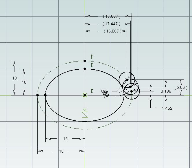 How to machine an ellipse | Model Engineer Mathway Ellipse on