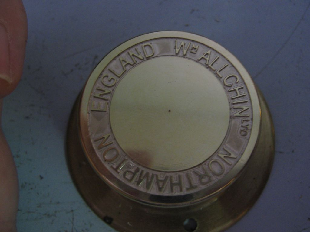 Allchin hub with correct engraving