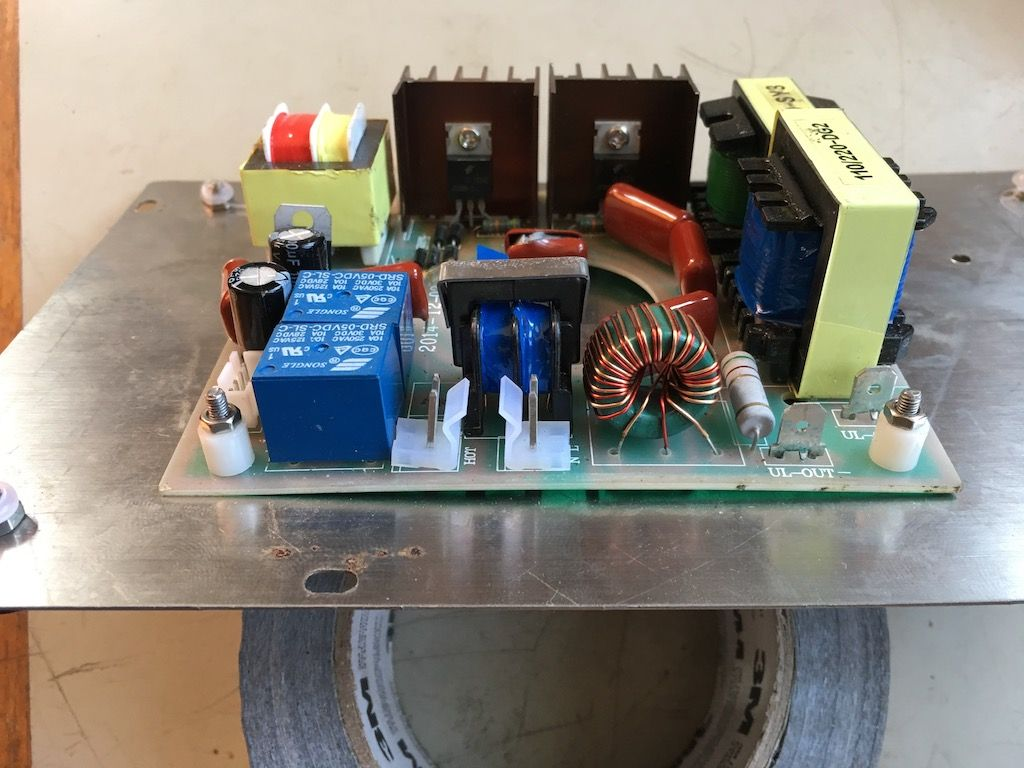 Dangerous Ultrasonic Cleaner Electrical Failure | Model Engineer