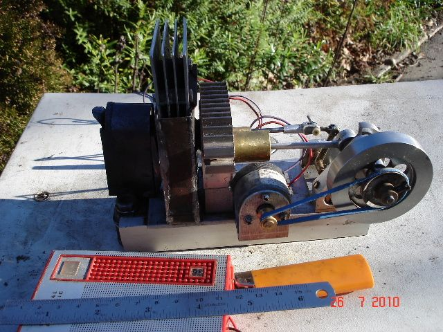 2.5 cc, and 3volt generator
