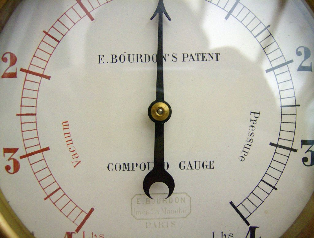 bourdon gage Pressure gauge: pressure gauge, instrument for measuring the condition of a fluid (liquid or gas) the bourdon-tube gauge, invented about 1850.