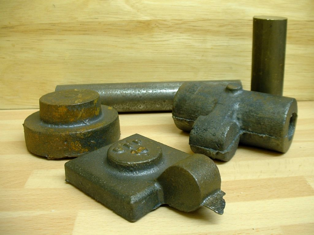 Potts Spindle castings