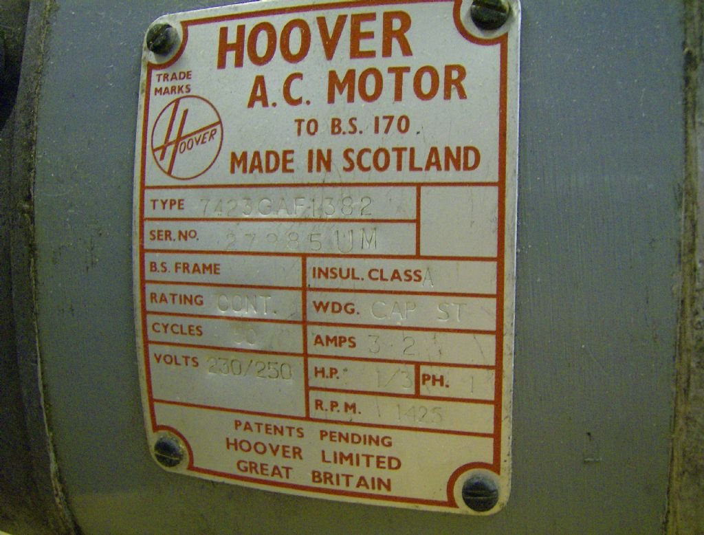 Mew 194 Electric Motor Warning Model Engineer