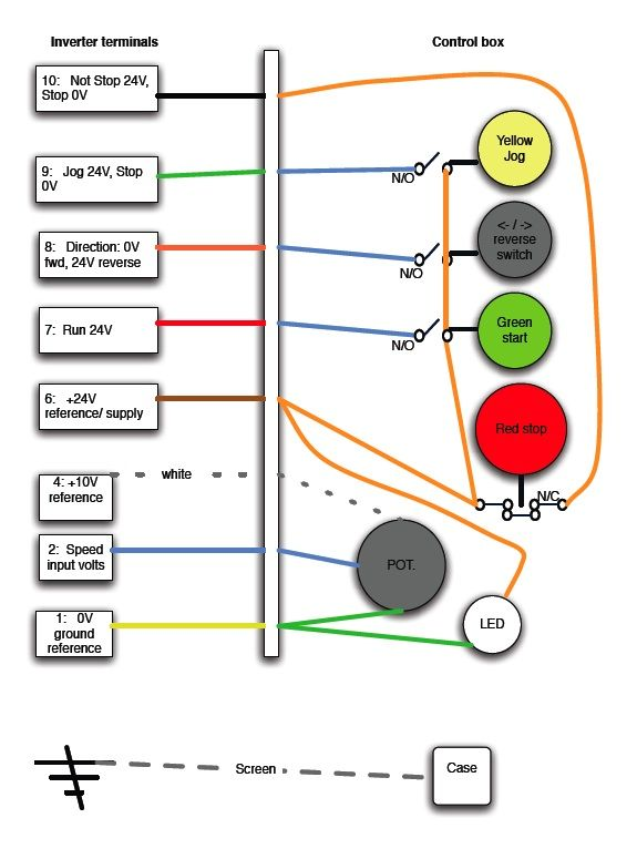 phase converter which type model engineer rh model engineer co uk Grid Tie Power Inverter Wiring Diagram 12V Inverter Circuit Diagram
