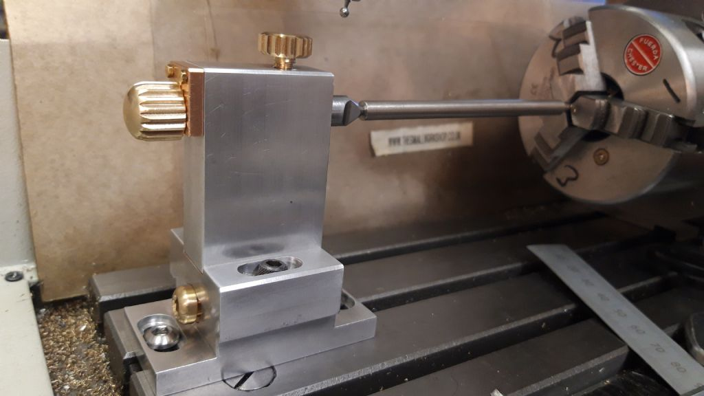 4th axis tailstock for KX1