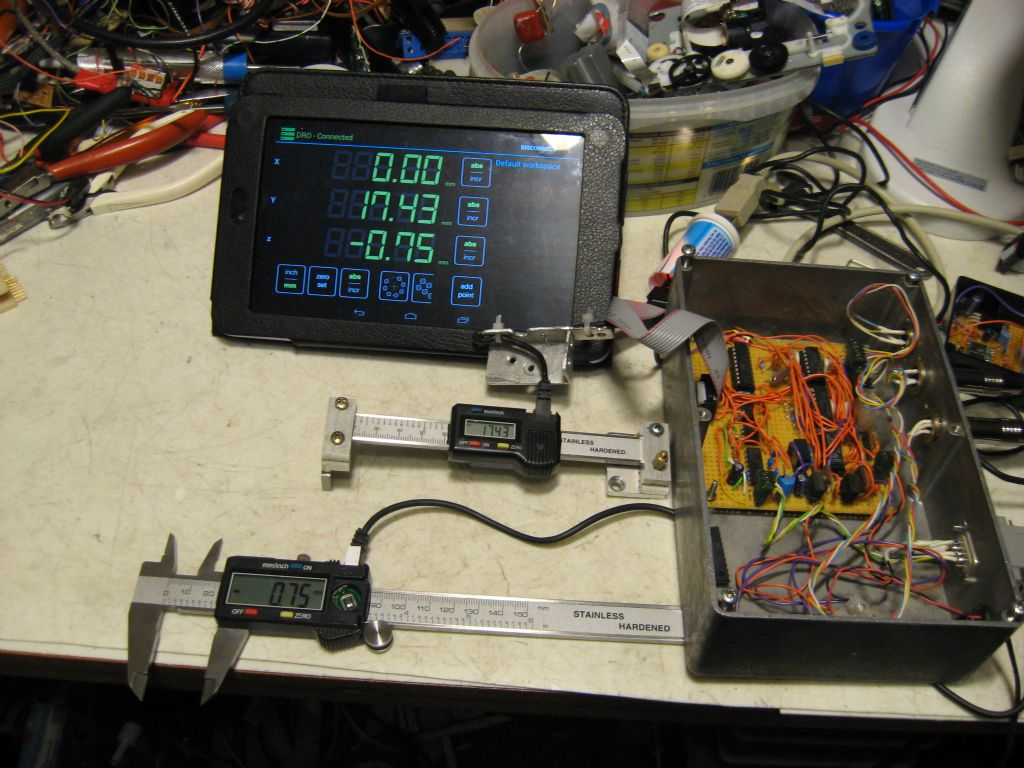 Remote Display Sources For Dro Chinese Calipers Model Engineer Voltage Shifter Circuit Mixed Scale Controller Yuriy39s Toys Img 0981