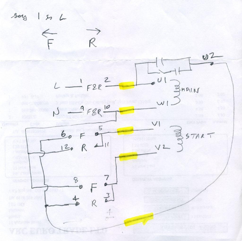 Warco 220 Wiring