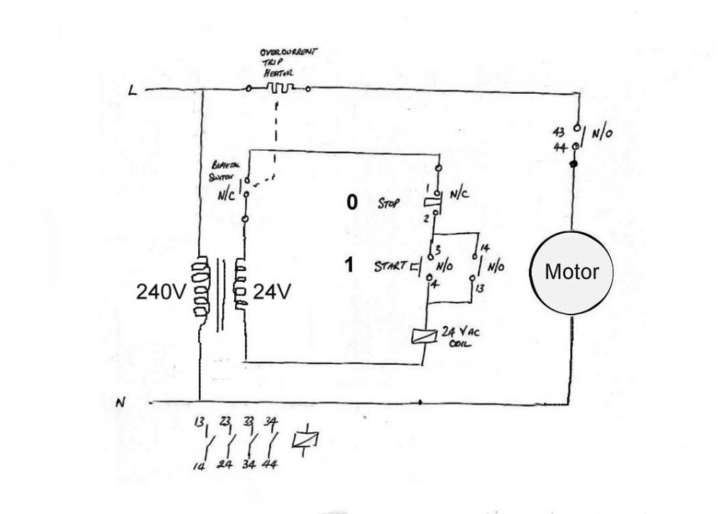 table drive motor identification model engineer motor stop start nvr 24v coil jpg