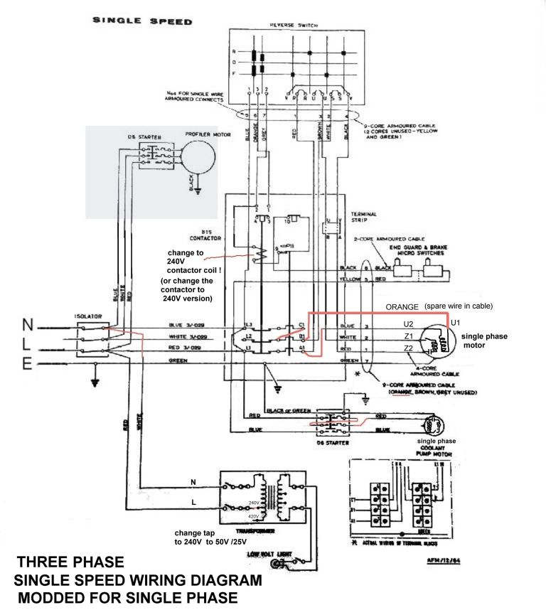 Compressor Wiring Diagram Single Phase from www.model-engineer.co.uk