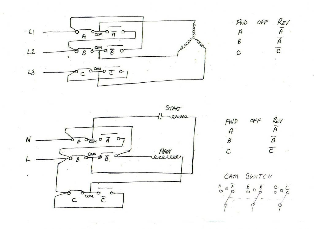 Forward reverse switch diagram | Model Engineer
