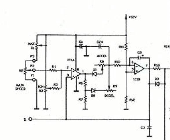 mini lathe motor controller diagram