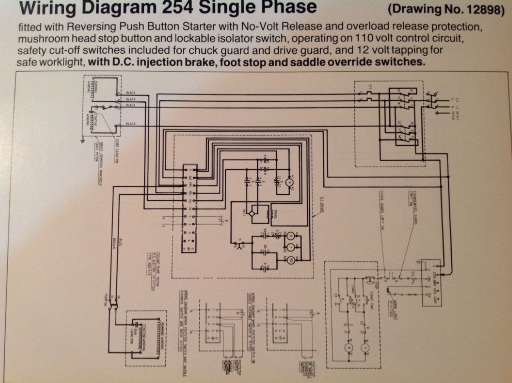lathe vfd schematic wiring diagrams