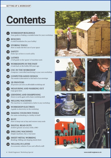Setting Up a Workshop Contents